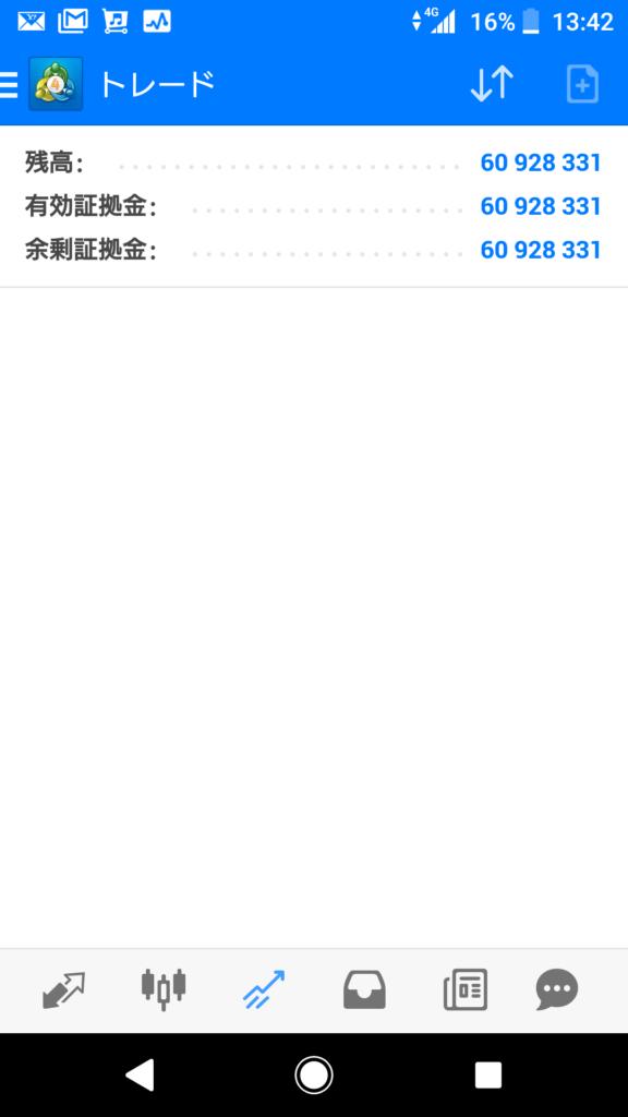 XM口座残高報告2018/11/24